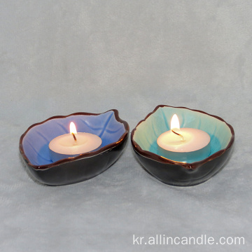 장식을위한 Unscented Tealight 캔들 14g tealights