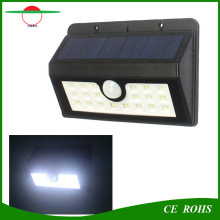 Outdoor Lighting Solar Power 20LED Security Wall Light Wireless Waterproof Motion Sensor Garden Lamp with Replaceable Battery