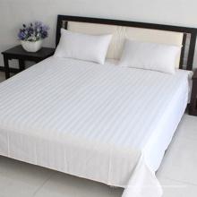 Chine fournit des feuilles planes blanches pour les ensembles de literie d'hôtel (WSFS-2016004)