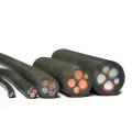 Resistente ao fogo de 25mm de cobre flexível de cobre fio de cabo elétrico de borracha 10mm