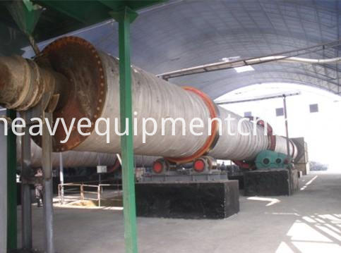 rotary wood chip dryer