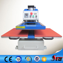 Bottom Glide Automatic Double Working Table Thermal Transfer Machinery