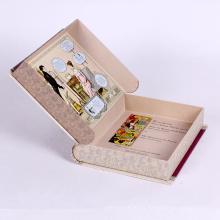 Caja de regalo en forma de libro simulado personalizado