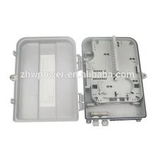 19 '' caja de terminal del ftth 2U / caja de distribución portuaria de la fibra óptica 24 / caja de distribución al aire libre del ftth 24 fibra óptica