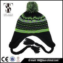 New design high quality cute kids knitted hat