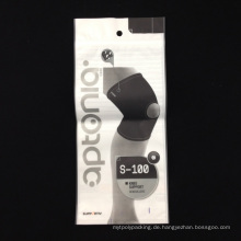 Neue heiße verkaufende Reißverschluss-Beutel für Kneepad Verpackung