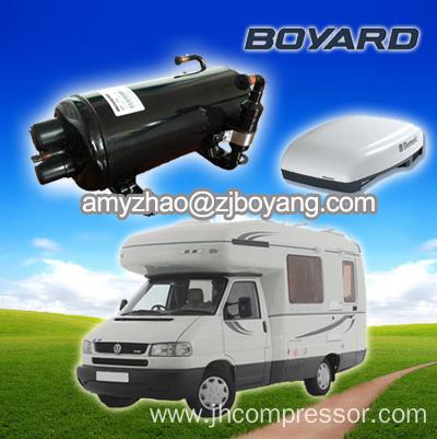 220v 50hz r22 r407c horizontal aircondition compressor for for Air compressor for pool closing