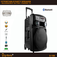 2016 Hot Sale Indoor Professional Portable Built-in Amplificador Trolley Speaker