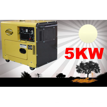 Kaiao (Chine) Générateur de faible consommation de carburant, générateur diesel 5kw Genset, générateur diesel Meilleur prix!