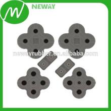 Almohadilla de goma conductora de silicona de alta calidad de alta calidad