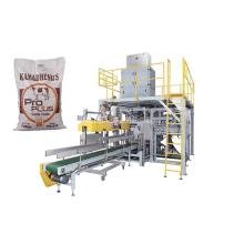 Máquina embaladora de saco de ração para gado de 25 kg