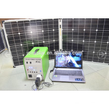 Venta al por mayor AC generador solar integrado con manivela y suministro de fábrica de ruedas