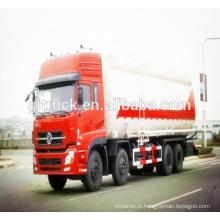 Camion de ciment en vrac de 8X4 Dongfeng / camion de poudre de ciment / camion de poudre en vrac / camion de transport de ciment / camion de transport de poudre