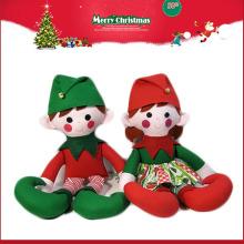 Muñeca del duende de la felpa de la Navidad del fabricante de China