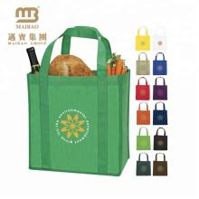 Изготовленное На Заказ Eco-Содружественный Durable Рекламный Супермаркет Моющиеся Многоразовые Сумки С Логотипом