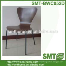 birch bentwood modernhotel desk chair with metal legs