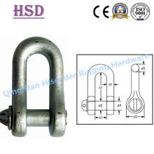 DIN82101 Form a Shackle, E. Galvaized, D Type