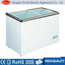 congelador de helados de tamaño pequeño congelador de gabinetes