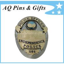 Insigne de police de métal américain de haute qualité (badge-033)
