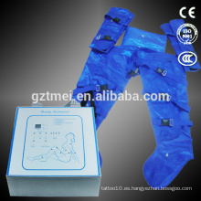 Equipo de sauna portátil de aire pressoterapia detoxina máquina presoterapia celulitis reducción máquina
