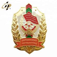 China insignias militares de encargo del oro de encargo del precio de fábrica 3D
