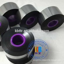 Black TTO Markem smartdate Domino compatible black printer ribbon