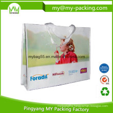 Gravure Print PP Woven Laminated Promotional Bag for Shopping