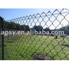 hot-dipped galvanized chin link fence