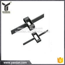 casting parts with alloy steel or carbon steel