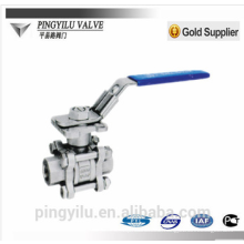 stainless steel gas ball valve price of nitric acid