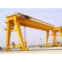 Industrial outdoor use double girder gantry goliath crane