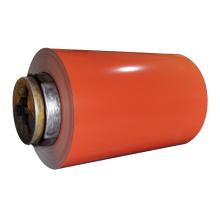 Bobina de aço galvanizado pré-pintado de cor RAL