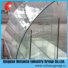 Vidro moderado curvado / vidro moderado segurança curvado