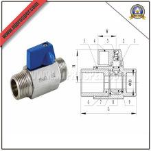 Мин шаровой клапан с наружной резьбой (YZF-V01)