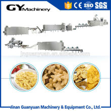 Chinese pop corn flakes snack machine/snack production line
