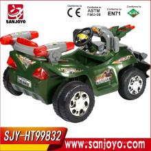 Función de la batería para niños Ride en un coche grande con música y sonidos niño coche eléctrico HT-99832