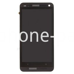 HTC One M7 screen with frame black