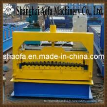 Feuille ondulée de toiture formant la machine (AF-R886)