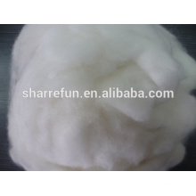 100% Chinese angora fibre white 14.5mic/32mm