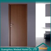 Portes intérieures en bois de la Chine (bois plein / placage / laque / PVC)