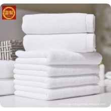 white 100% microfiber new style bath towel, hotel towel, face towel woven