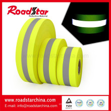 En471 reflective warning cloth fabric