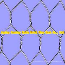 Galvanizado Hexagonal Wire Mesh, revestido de PVC Hexagonal Wire Mesh ----- 34 anos facyory