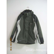 2009 newest style Men and women's wadded jacket with hood