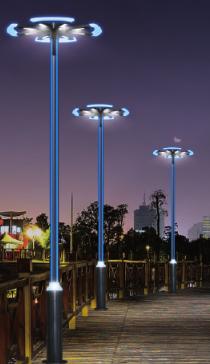 Iron Profile Landscape Courtyard Lamps