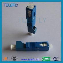 Adaptateur fibre optique hybride Sc-LC, mâle à femelle
