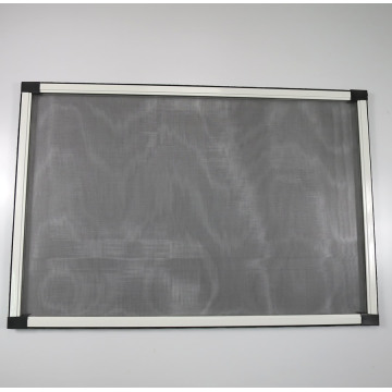 Aluminum adjustable window screens