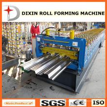 Cangzhou Dixin Galvanisierter Bodenbelag Kaltrollenformmaschine