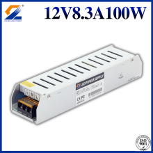 Slim LED Power Supply 12V 100W