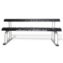 Chine Rack d'haltères de fabricant d'équipement de forme physique (XR9908)